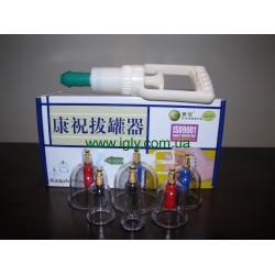 Вакуумно-магнитные банки с насосом Kang Zhu (6 шт.)