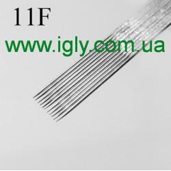 Иглы  для татуировки 11F