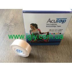 Кинезио тейп AcuTop Premium 2,5см*5м