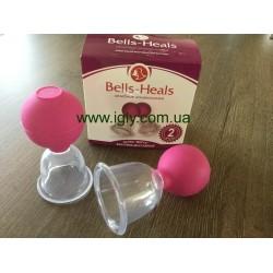 Банки «Bells-Heals» вакуумно-массажные.