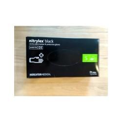 Перчатки медицинские Nitrylex black