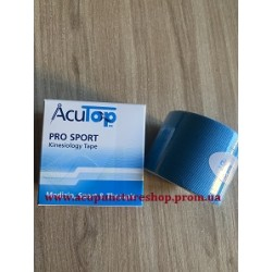 Кинезио тейп AcuTop Pro Sport, 5 см x 5 м, цвет голубой